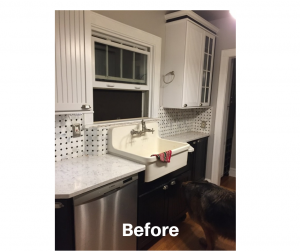 Before picture of Galley Kitchen