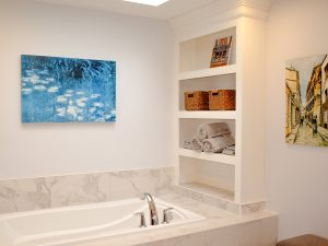 A Spacious and Soothing New Master Bathroom Suite