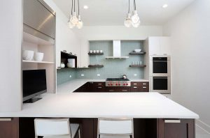 Contemporary Kitchen with Subtle Elegance