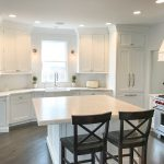 Simple and Fresh White Kitchen