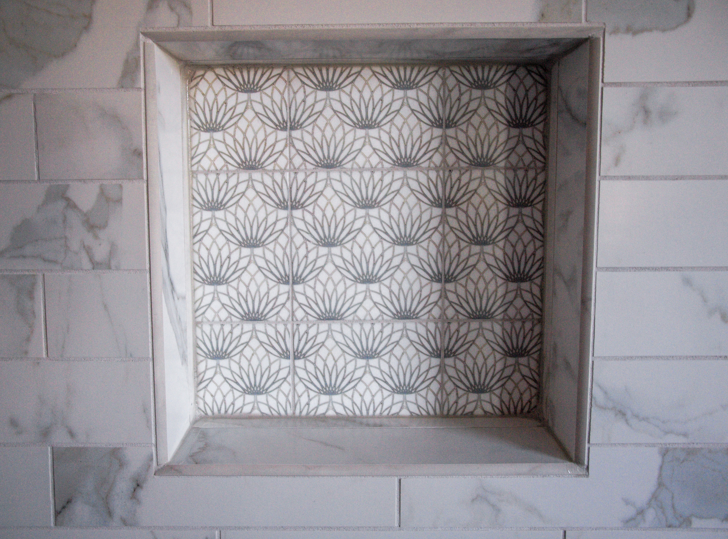Enhancing Shower Niches With Decorative Tile Normandy Remodeling